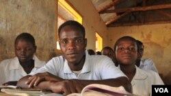 Wanafunzi katika kambi ya wakimbizi ya Kakuma, Kenya