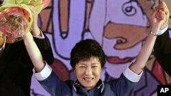 候任南韓總統朴瑾惠(資料圖片)