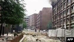 На місці вибуху у центрі Осло.