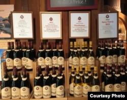 Napa là kinh đô của rượu nho Mỹ (ảnh Bùi Văn Phú)