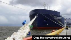 Transport ruskog tečnog gasa St. Petersburg