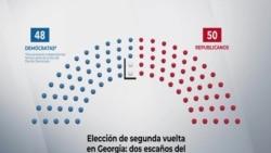 Elección de segunda vuelta en Georgia: dos escaños del Senado que decidirán el balance de poder