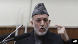 Presiden Hamid Karzai telah menerima keputusan parlemen Afghanistan untuk memberhentikan dua menteri utama dalam kabinetnya (Foto: dok).