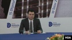 Kryetari i opozites Lulzim Basha