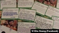 Nhóm trẻ em Mỹ gốc Việt xin Tổng thống Donald Trump giúp đưa mẹ về cho các bạn đồng trang lứa tại Việt Nam.