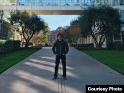 "Johanes Kurnia, pemuda kreatif yang ikut garap film ""Star Wars: the Last Jedi"" (Dok: Johanes Kurnia)"