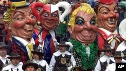 Karnaval di kota Mainz, Jerman (foto: dok). Kota Braunschweig membatalkan acara karnaval tahunan karena ancaman teror.