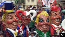 Alman kentlerinde yapılan karnaval yürüyüşlerinden biri