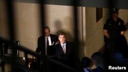 Майкл Коэн в Комитете по разведке Палаты представителей (архивное фото)