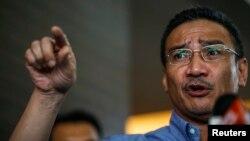 马来西亚国防部长希山慕丁
