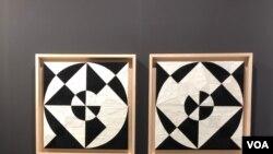 "La serie ""Possibilities of a Structure"" de Eduardo Terrazas exhibida en la Art Basel 2019 (Foto: Antoni Belchi)"