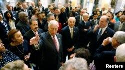 Kongre'nin Demokrat Partili üyeleri Başkan Obama'yla görüştü