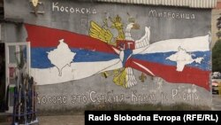 Grafiti u Severnoj Mitrovici