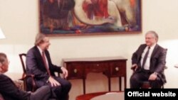 Armenan FM Nalbandian Meets with OSCE US Co-Chair James Warlick