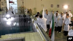 Inside an Iranian nuclear facility (file photo)