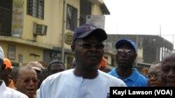 L'ancien Premier ministre Agbéyomé Kodjo (Photo Kayi Lawson, VOA)