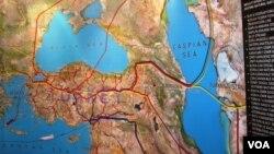 Regionda neft-qaz kəmərləri
