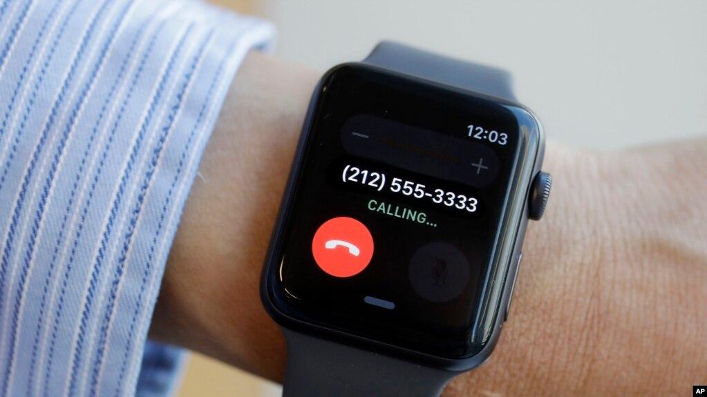 2017年9月15日纽约展出苹果手表