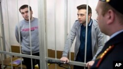More Russian Protesters Sentenced