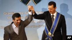 Irán y Siria han sido aliados durante más de tres décadas en materia económica, militar y política.