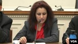 Mohira Ortiqova, AQSh Kongressi, 21-may, 2015