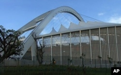 World Cup matches will be played in the new stadium in Durban, South Africa, February 2010