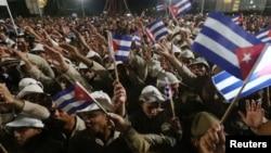 Кубинці вшановують пам'ять Фіделя Кастро