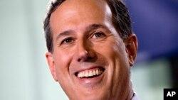 Rick Santorum lanzó su candidatura presidencial en mayo de 2015.