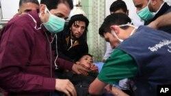 رسانه وابسته به دولت اسد این تصاویر را منتشر کرده است.