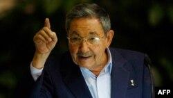 Chủ tịch Cuba Raul Castro hồi năm ngoái đồng ý thả 52 tù chính trị bị bắt giữ trong vụ đàn áp
