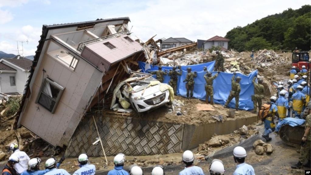 Japón| Un diluvio provocó muchas muertes y varios desaparecidos