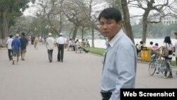 Blogger Trương Duy Nhất bị bắt giữ hồi giữa năm ngoái vì 'vi phạm pháp luật theo điều 258 Bộ luật Hình sự Việt Nam'. (TDN Facebook)