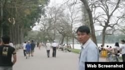 Blogger Trương Duy Nhất (Courtesy: Facebook)