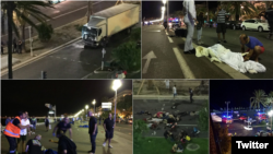 Camião provoca atentado em Nice, França