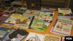 Книги, подаренные библиотеке
