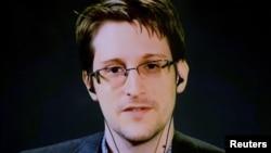Cựu nhân viên tình báo hợp đồng người Mỹ Edward Snowden.