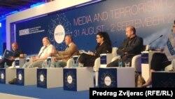 Mediji i terorizam, OSCE konferencija, učesnici sesije o izvještavanju o terorizmu iz perspektive Balkana
