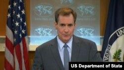 美国国务院发言人约翰·柯比(图片来源:美国国务院)