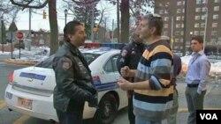 Ken Dickstein es uno de los oficiales de la policía en Baltimore que forma parte de la agencia para la protección de los judíos en su barrio.