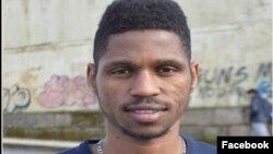 José Borges, estudante são-tomense