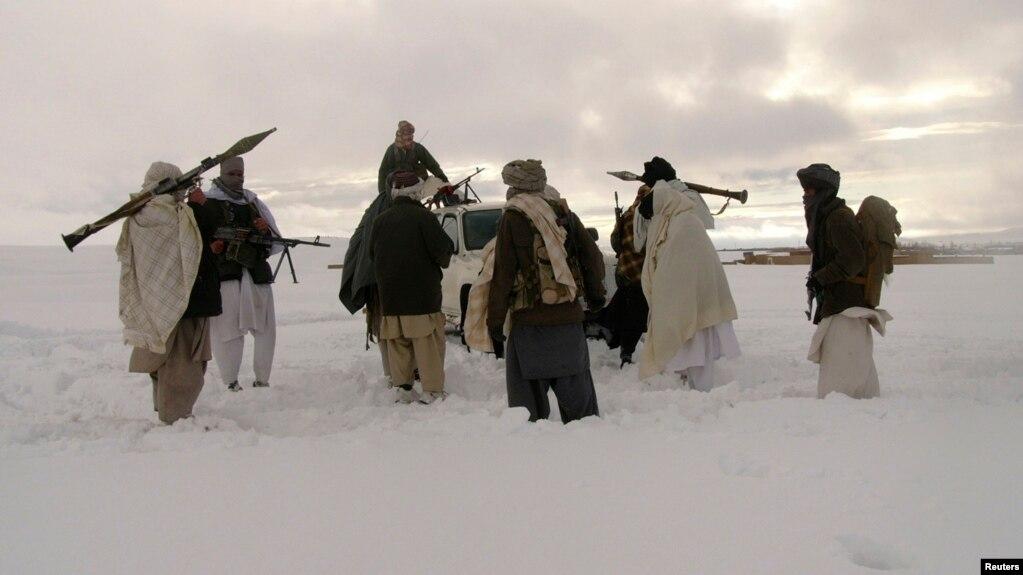 Боевики группировки Талибан