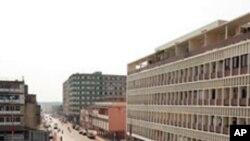 Vista da cidade de Malanje