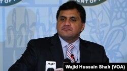 ترجمان پاکستان دفتر خارجہ (فائل)