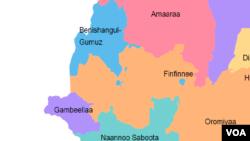 Itoophiyaa map