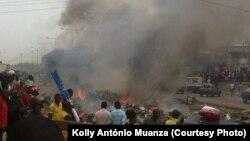 Greve de taxistas em Luanda