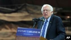 Thượng nghị sỹ Bernie Sanders bị ông Trump chỉ trích là 'theo tư tưởng chủ nghĩa xã hội'