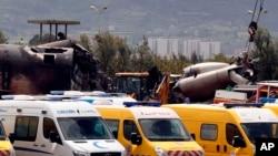 طیارۀ یاد شده دقایقی پس از پرواز از یک پایگاه هوایی سقوط کرد