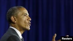 Tổng thống Obama nói rằng những hệ quả kéo dài của chế độ nô lệ và phân biệt chủng tộc trong quá khứ tiếp tục có những tác động sâu sắc đối với nhiều cộng đồng người Mỹ gốc Phi Châu.