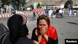 Familiar de uma das vítimas, Cabul, 23 de Julho, 2016.