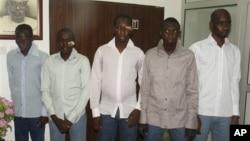 Нигерийцы, подозреваемые в принадлежности к группировке «Боко харам» (архивное фото)